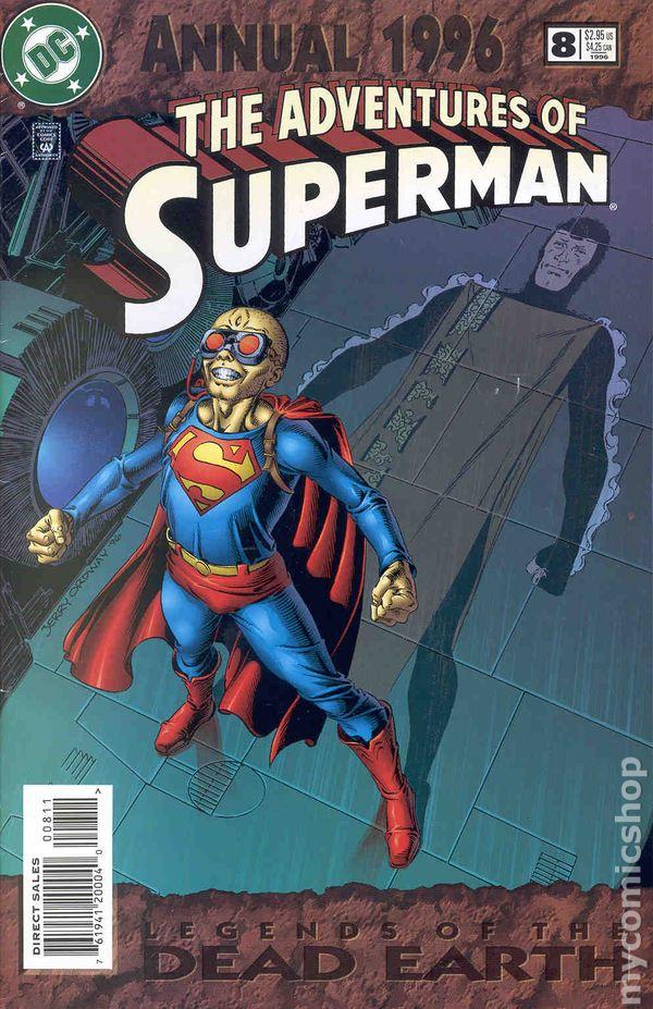 THE ADVENTURES OF SUPERMAN ANNUAL #5 1993 DC Comics