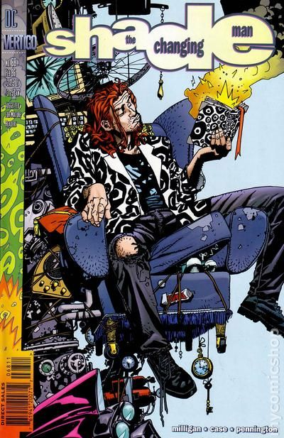 Shade the Changing Man #67 VF 1996 Stock Image