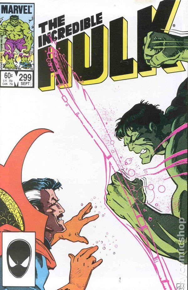 Incredible Hulk #297 VF 1984 Stock Image