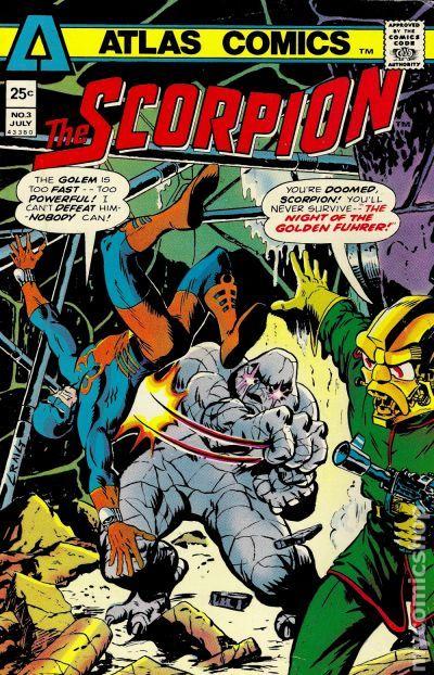 Scorpion (1975) comic books