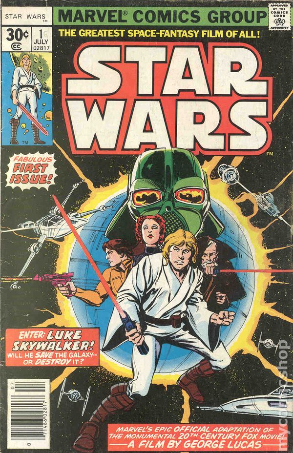 Star Wars comic book - Star Wars 1977