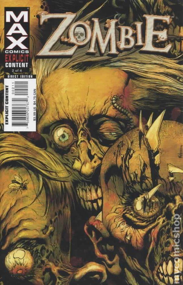 Zombie 2006 Marvel Comic Books
