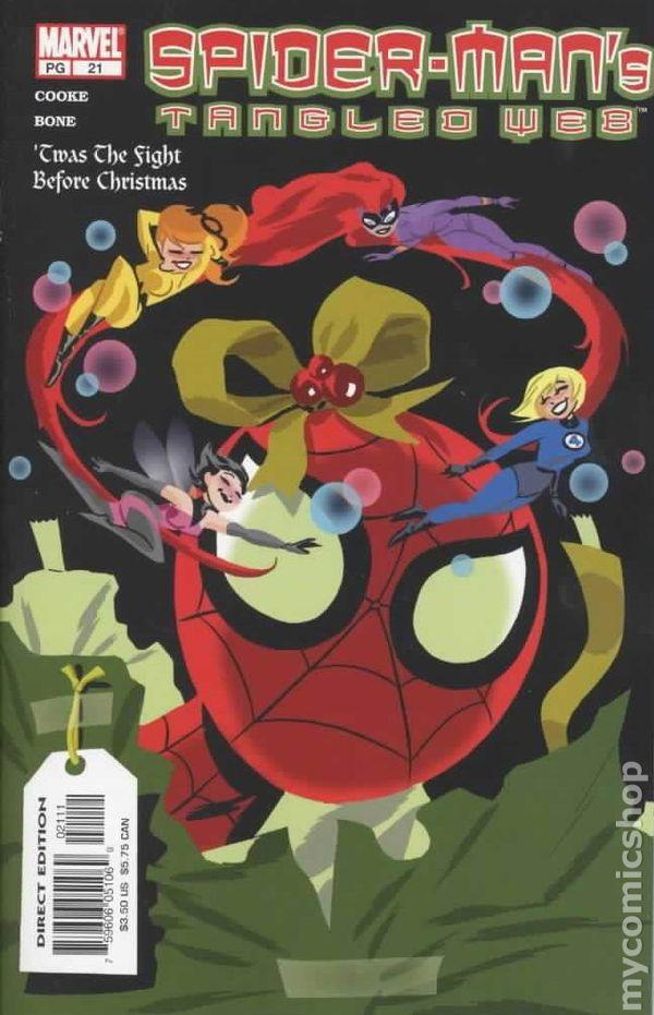 Spider-Man/'s Tangled Web #2 VF 2001 Stock Image