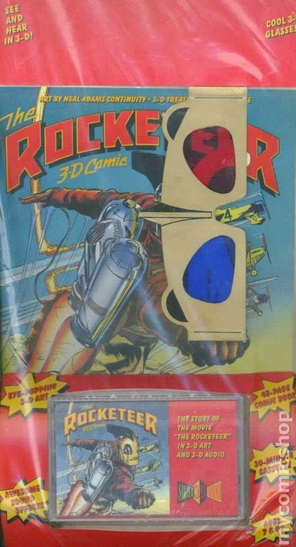 rocketeer movie 3d comic 1991 comic books
