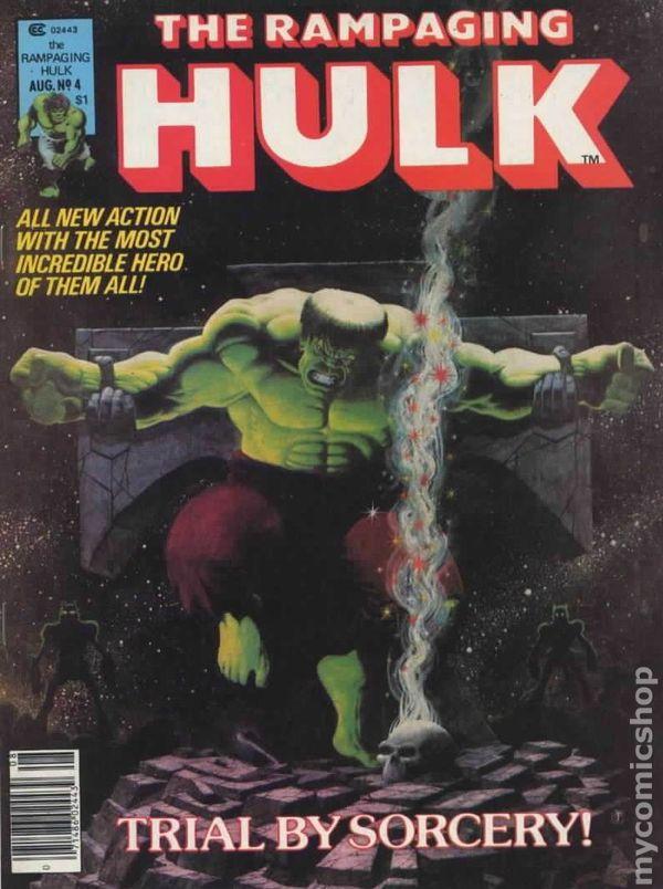 Rampaging Hulk 1977 Magazine Comic Books
