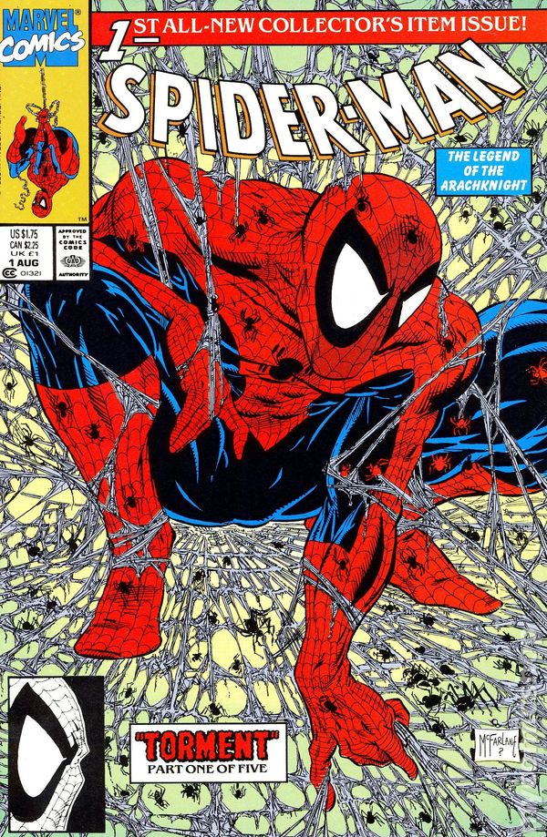 Spider-Man 1990 Comic Books-7493