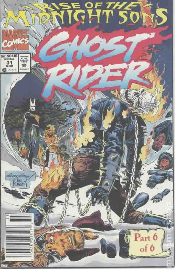 Ghost Rider 1990 2nd Series 31U