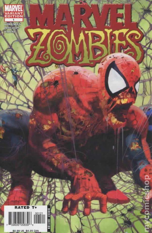 comic books in marvel zombies saga