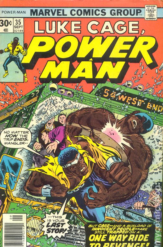 Power Man And Iron Fist 1972 Hero For Hire 35