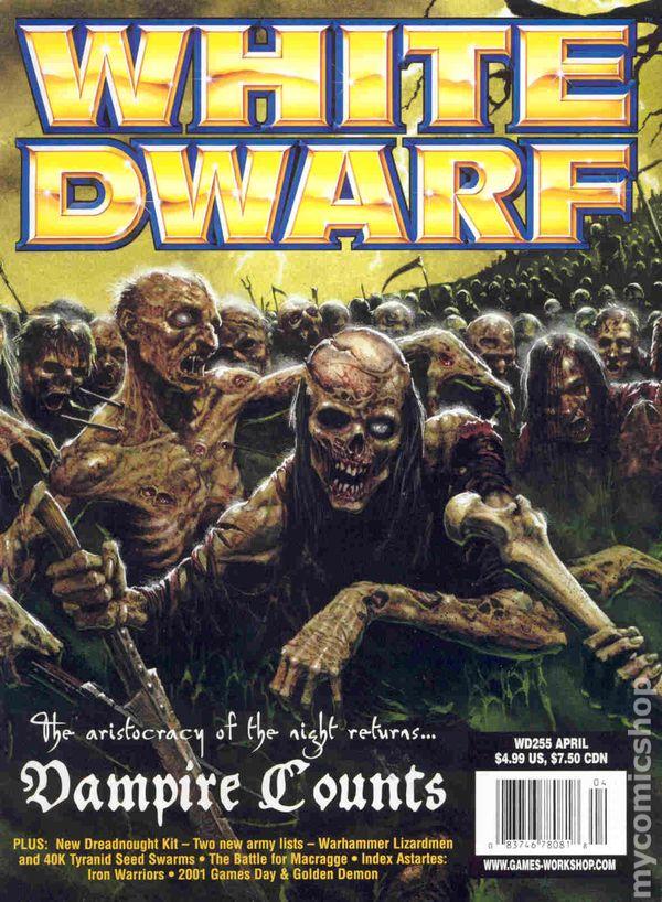 Comic books April 2001