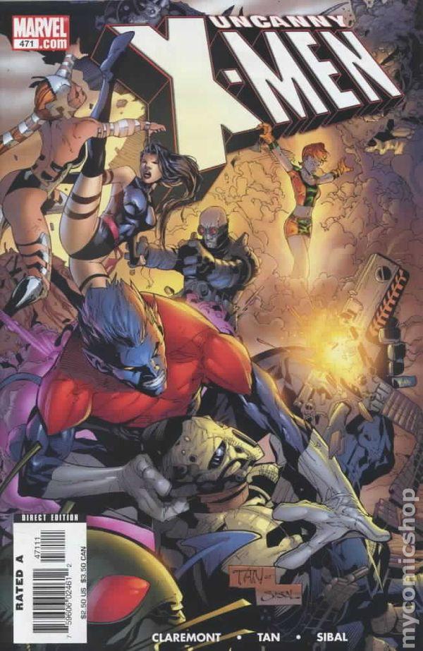 Uncanny X-Men #465 FN 2005 Stock Image