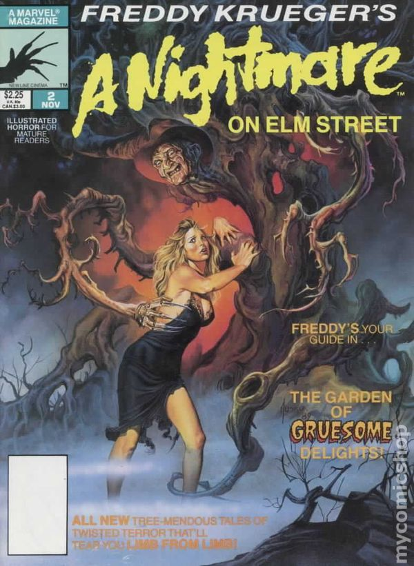 Freddy Krueger S A Nightmare On Elm Street 1989 Comic Books