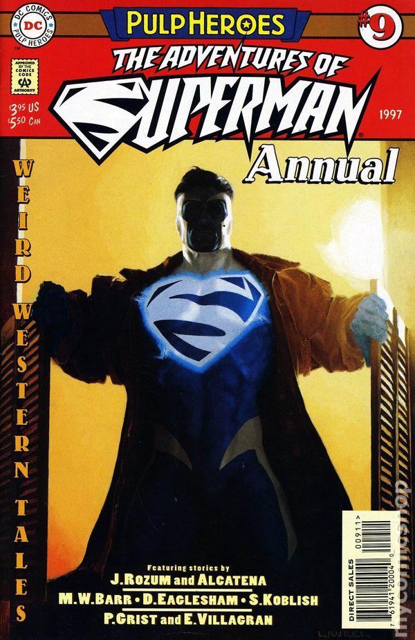 BATMAN  Annual  21 1997 PULP HEROES by Moench /& J H Williams III. DC