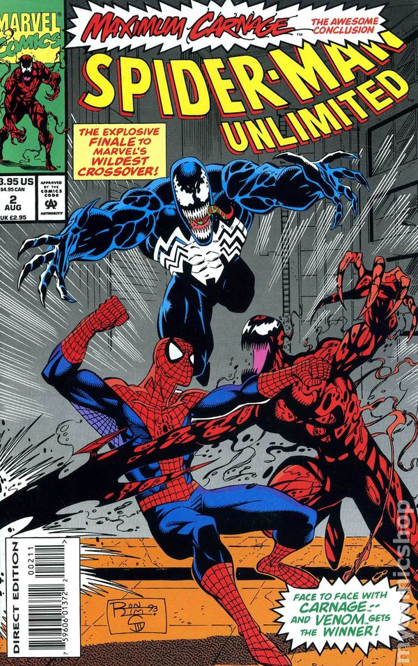 Spider-Man Unlimited (1993 1st Series) comic books