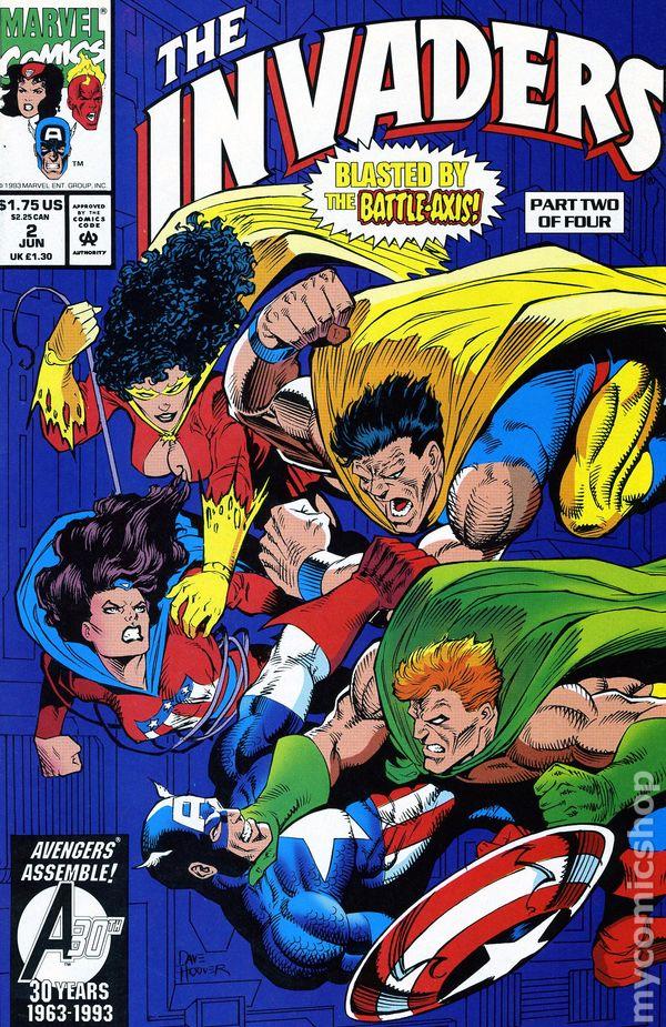 Invaders (1975) #34 | Comics | Marvel.com