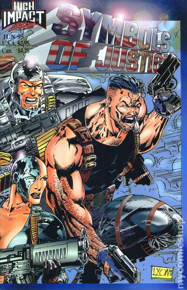 Symbols Of Justice 1995 Comic Books