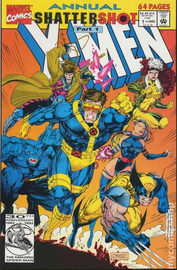 X Men Annual Comic Books Issue 1