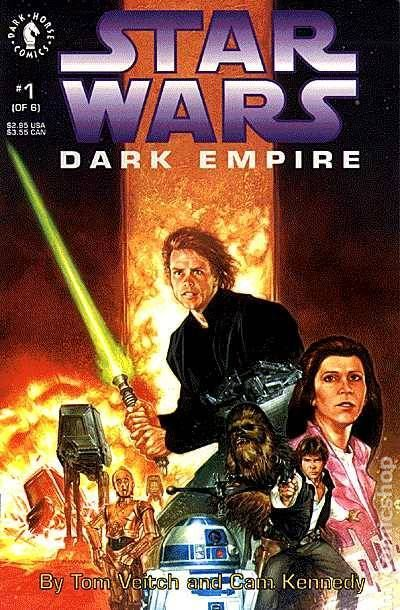 Star Wars: Dark Empire 1 Cover