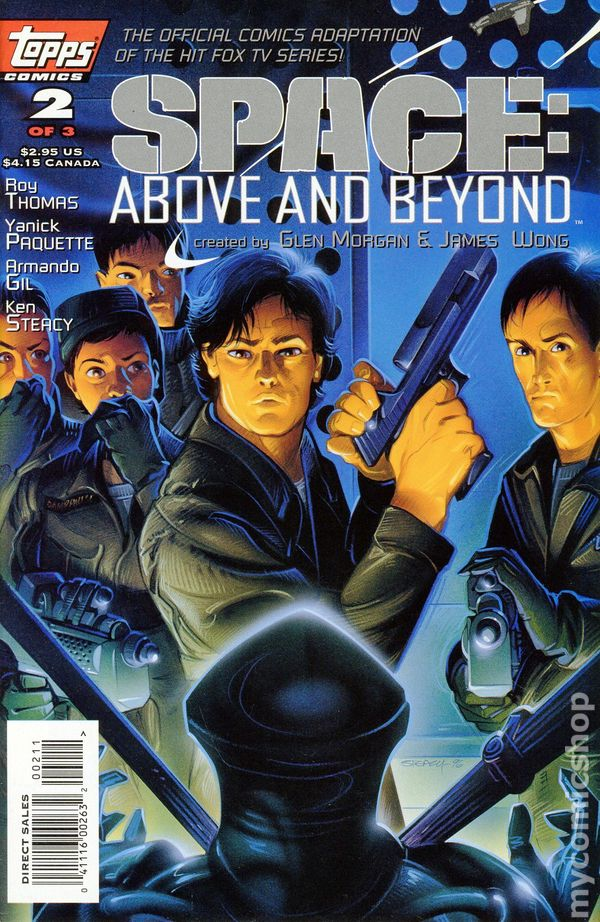 Space above and beyond 1996 comic books for Above and beyond