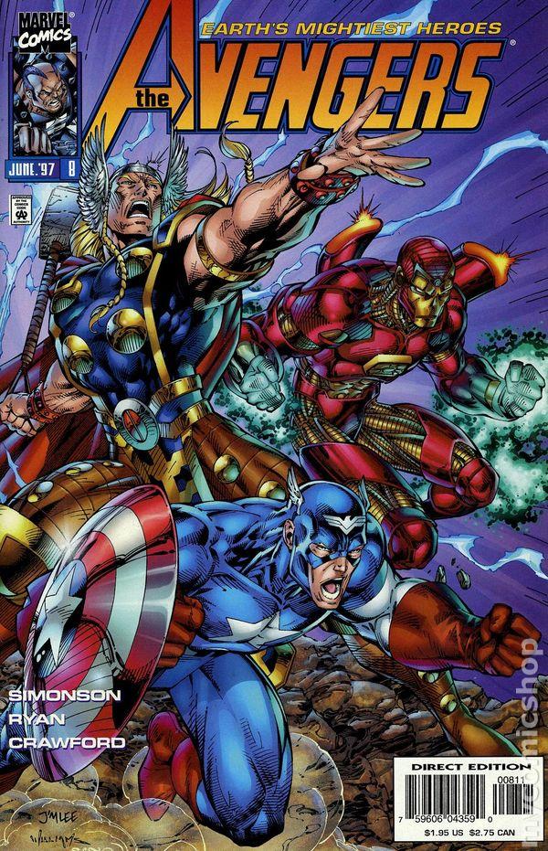 Avengers 1996 2nd Series Comic Books