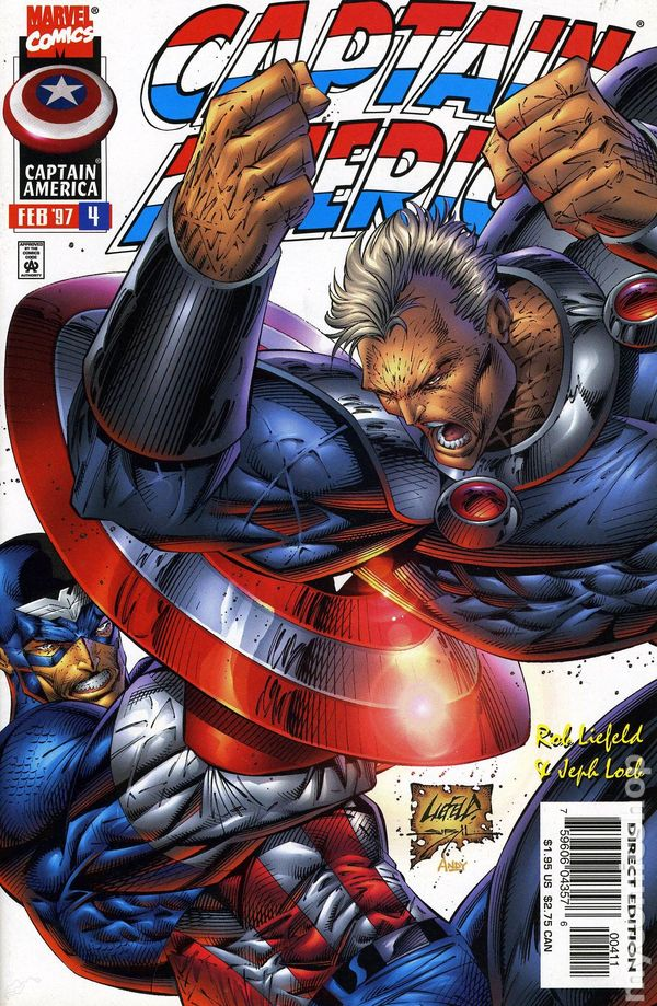 1998 1VF,11,12NM 50 NM, 1 NM, 1996 1998 Captain America 1994 1 VF, 1 NM