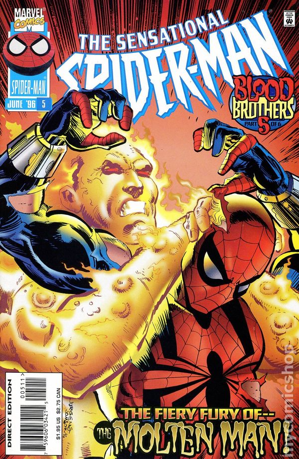 Sensational spider man 1996 1st series comic books - Marvel spiderman comics pdf ...
