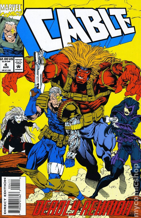 Cable 1993 1st Series Comic Books