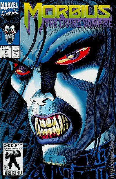 Morbius Marvel >> Morbius the Living Vampire (1992) comic books