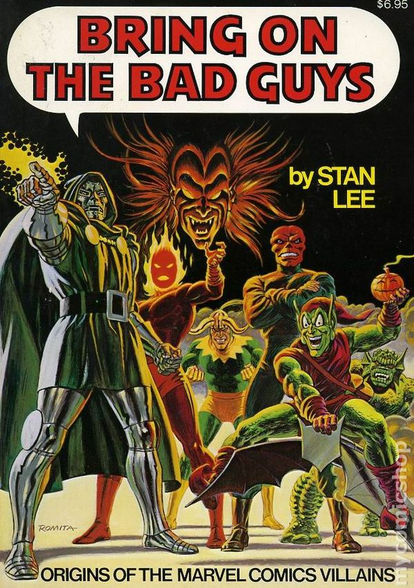 Marvel's Bring On The Bad Guys Cover