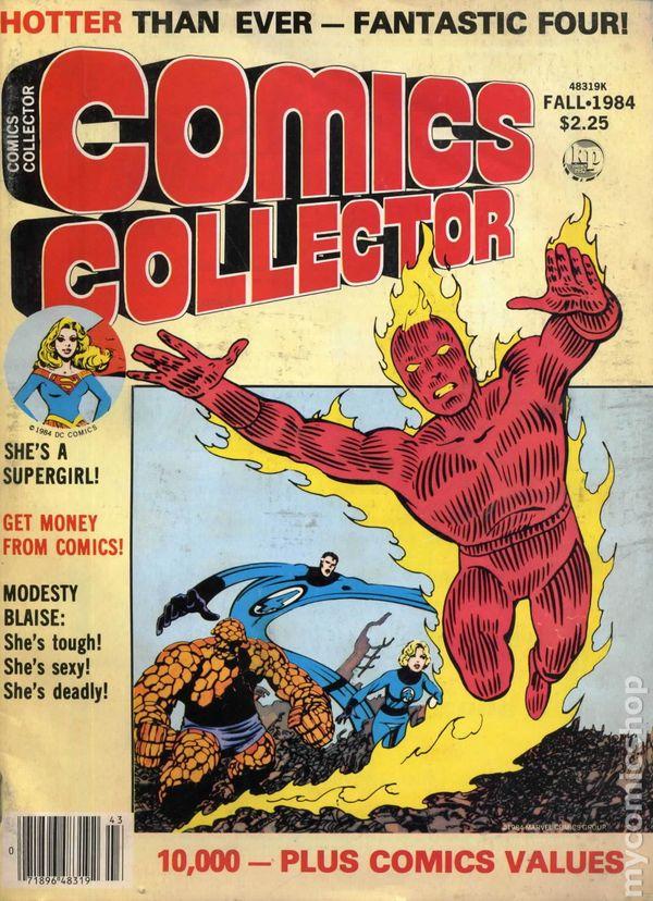 Comics Collector (1983) comic books