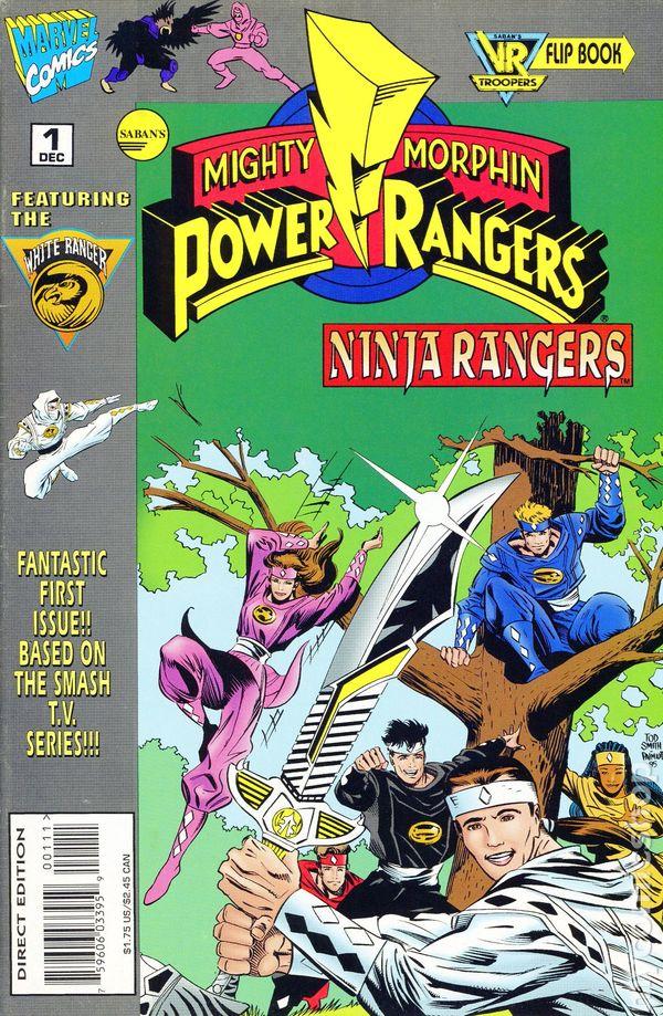 Mighty Morphin Power Rangers Ninja Rangers 1995 Comic Books