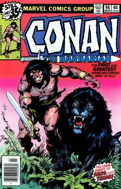 Conan the Barbarian (1970 Marvel) comic books