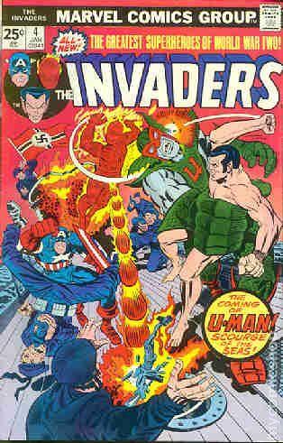Invaders 1975 Marvel 1st Series 4