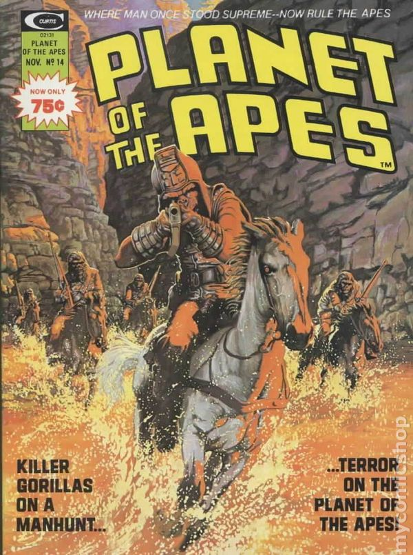 Planet Of The Apes 1974 Marvel Magazine Comic Books