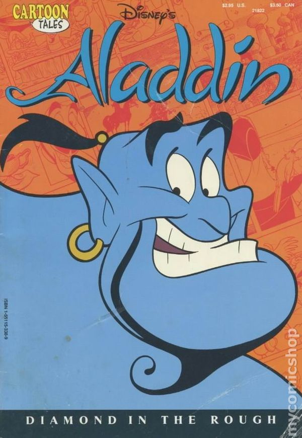 cartoon tales aladdin disney comic books walt productions comicbookrealm issue