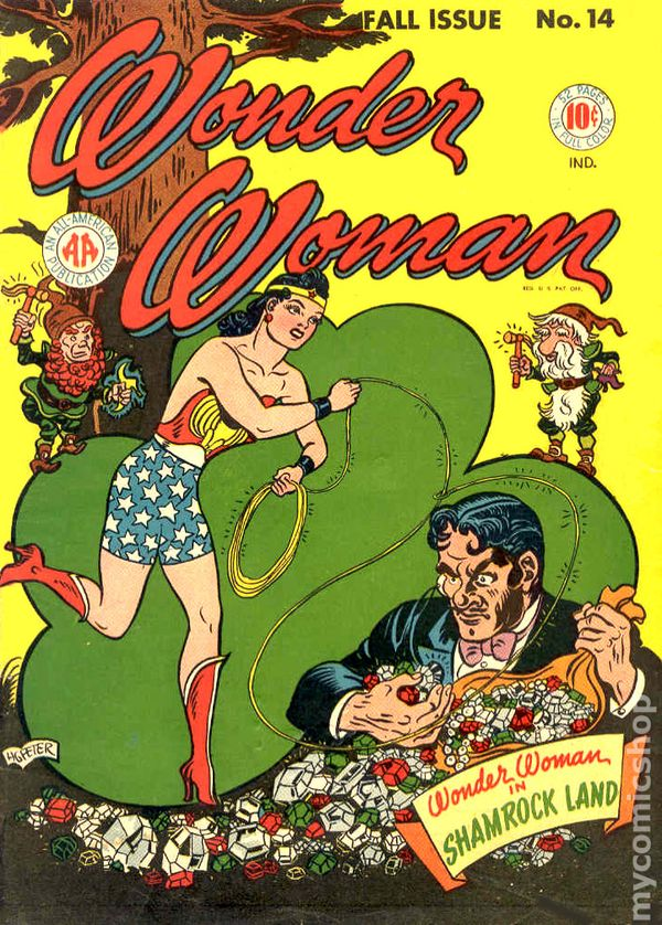 Wonder Woman 1942 1st Series Dc Comic Books 1940 1949