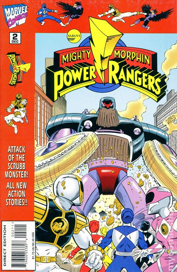 Mighty Morphin Power Rangers 1995 96 Comic Books