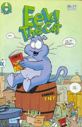 Eek The Cat Comic