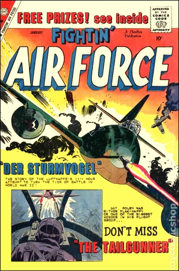 Fightin Air Force Vintage Comic No. 37 T*