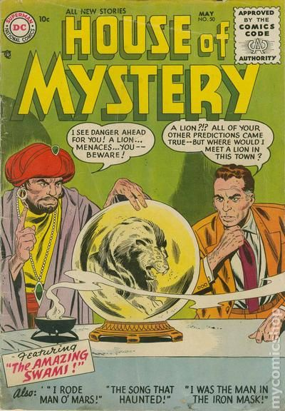 House Of Mystery (1951-1983 1st Series) Comic Books