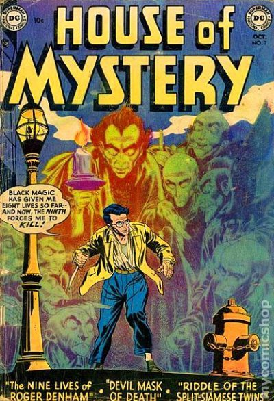 House Of Mystery (1951-1983 1st Series) Comic Books 1950-1959