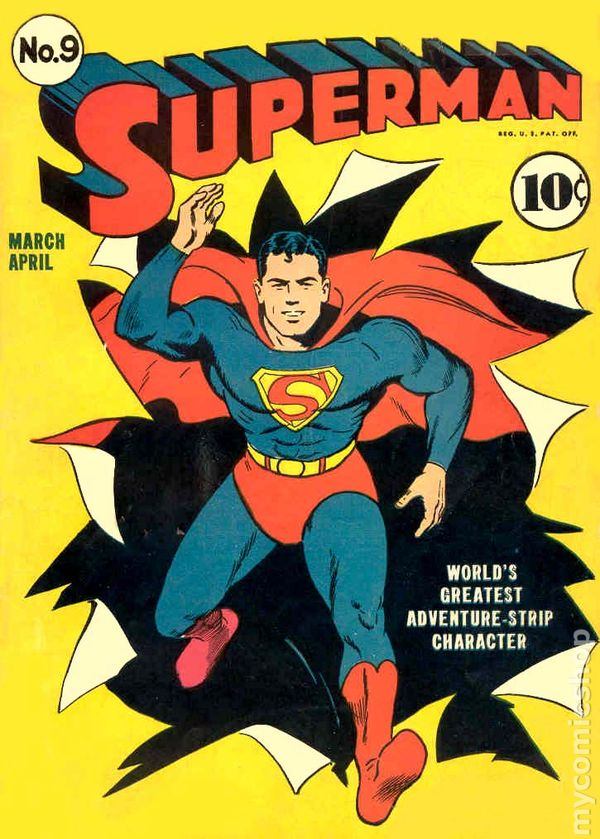 Superman 1939 1st series comic books