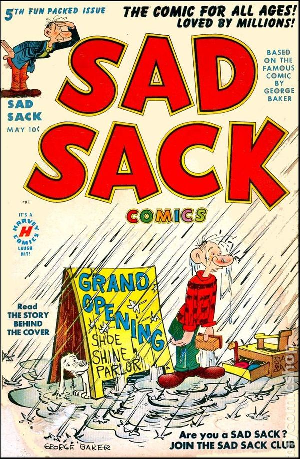 sad sack 1949 comic books. Black Bedroom Furniture Sets. Home Design Ideas