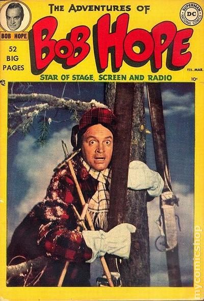 Adventures Of Bob Hope 1950 Comic Books