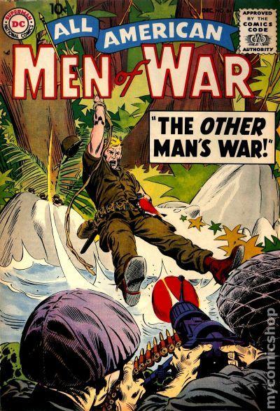 All American Men Of War 1952 Comic Books