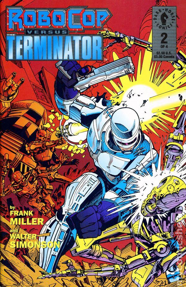 Robocop Vs Terminator 1992 Comic Books