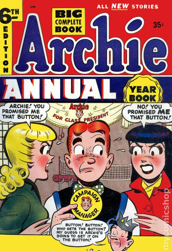 Archie Annual 1950 Comic Books