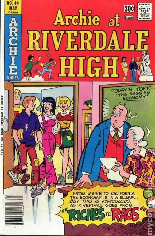 Comic high redhead riverdale