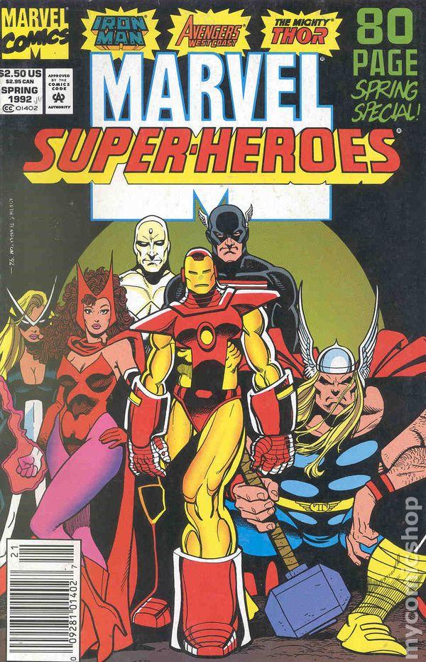 Marvel Super Heroes 60 Superhéroes: Marvel Super Heroes (1990 2nd Series) Comic Books