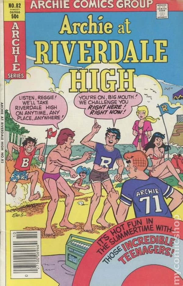 Archie At Riverdale High 1972 82